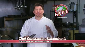 World's Greatest Kitchen Knife TV Spot, 'Revolutionary' Featuring Constantine Kalandranis - 9 commercial airings