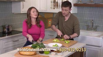 World's Greatest Kitchen Knife TV Spot, 'Revolutionary' Featuring Constantine Kalandranis - Thumbnail 7