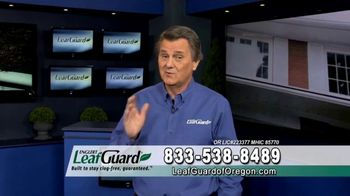 LeafGuard of Oregon Winter Half Off Sale TV Spot, 'Ladder Accidents'