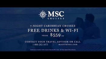 MSC Cruises TV Spot, 'Cruising at Its Most Welcoming: $559 per Person' - Thumbnail 9