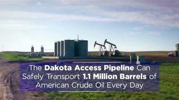 Dakota Access Pipeline TV Spot, 'Important Economic Hub' - Thumbnail 7