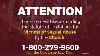 Goldwater Law Firm TV Spot, 'Sexual Abuse by the Church' - Thumbnail 2