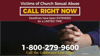 Goldwater Law Firm TV Spot, 'Sexual Abuse by the Church' - Thumbnail 4