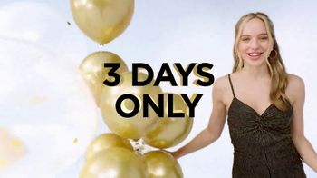Kohl's Cash Anniversary Sale TV Spot, 'Three Days Only'