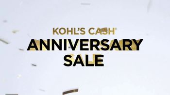 Kohl's Cash Anniversary Sale TV Spot, 'Three Days Only' - Thumbnail 3
