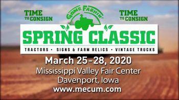 Mecum Gone Farmin' 2020 Spring Classic TV Spot, 'Time to Consign' - Thumbnail 3