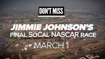 Auto Club Speedway TV Spot, '2020 Auto Club 400: Jimmie Johnson's Final Race'