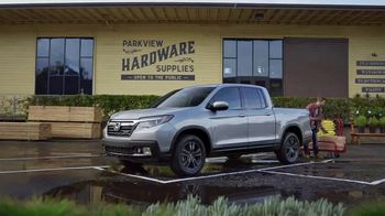 Honda Ridgeline TV Spot, 'Versatility' [T2]