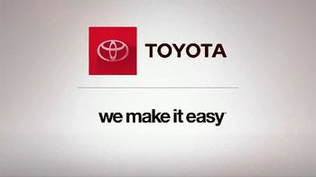 Toyota We Make It Easy Sales Event TV Spot, 'Floating' [T2] - Thumbnail 4