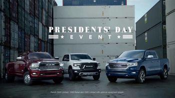 Ram Trucks Presidents Day Event TV Spot, 'New Perspective' [T1] - Thumbnail 4