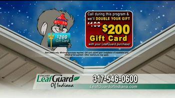 LeafGuard of Indiana Winter Half Off Sale TV Spot, 'Big Mouth' - Thumbnail 9