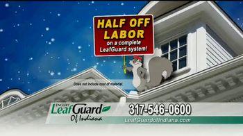 LeafGuard of Indiana Winter Half Off Sale TV Spot, 'Big Mouth' - Thumbnail 8