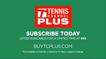 Tennis Channel Plus TV Spot, 'Indian Wells and Miami Open' - Thumbnail 8