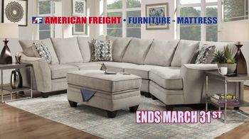American Freight Tax Time Blowout TV Spot, 'Low Price Match Guarantee' - Thumbnail 6