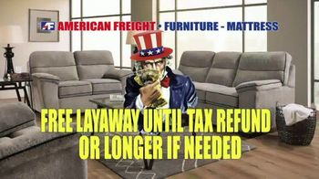 American Freight Tax Time Blowout TV Spot, 'Low Price Match Guarantee' - Thumbnail 5