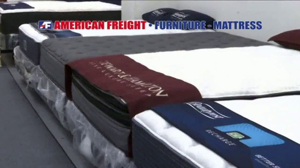 American Freight Tax Time Mattress Blowout Tv Commercial Mattress Sets Ispot Tv
