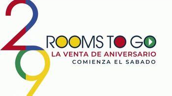 Rooms to Go la Venta de Aniversario TV Spot, 'Financiamiento' canción de Junior Senior [Spanish] - Thumbnail 1