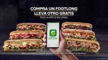 Subway App TV Spot, 'Compra un Footlong, lleva otro gratis' [Spanish] - Thumbnail 6