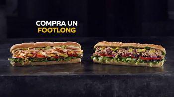Subway App TV Spot, 'Compra un Footlong, lleva otro gratis' [Spanish] - Thumbnail 2
