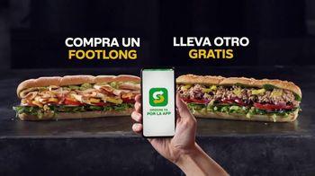 Subway App TV Spot, 'Compra un Footlong, lleva otro gratis' [Spanish] - Thumbnail 3