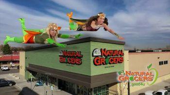 Natural Grocers TV Spot, 'Health Crusader & Organica Girl' - Thumbnail 1