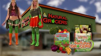 Natural Grocers TV Spot, 'Health Crusader & Organica Girl' - Thumbnail 2