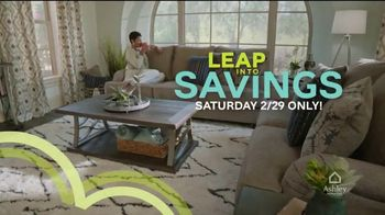 Ashley HomeStore Leap Into Savings TV Spot, 'Free White Glove Delivery' Song by Midnight Riot - Thumbnail 3