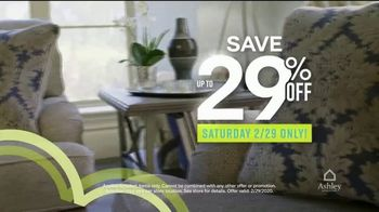 Ashley HomeStore Leap Into Savings TV Spot, 'Free White Glove Delivery' Song by Midnight Riot - Thumbnail 6