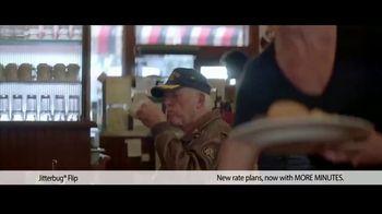 Jitterbug Flip TV Spot, 'Veteran Dad: Plans at $14.99' - Thumbnail 1
