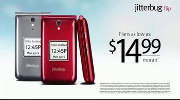 Jitterbug Flip TV Spot, 'Veteran Dad: Plans at $14.99' - Thumbnail 10