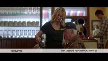 Jitterbug Flip TV Spot, 'Veteran Dad: Plans at $14.99' - Thumbnail 2