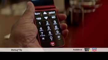 Jitterbug Flip TV Spot, 'Veteran Dad: Plans at $14.99' - Thumbnail 4