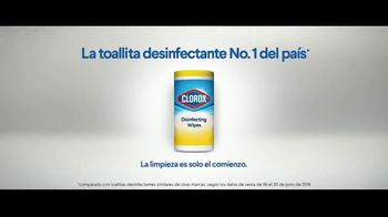 Clorox Disinfecting Wipes TV Spot, 'Defenderse: baloncesto' canción de Donnie Daydream [Spanish] - Thumbnail 8
