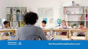 Honda TV Spot, 'Northwest Honda Dealers: School Is Better' [T2] - Thumbnail 4