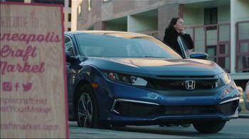 2020 Honda Civic TV Spot, 'Life Is Better: Minneapolis Craft Market' [T2] - Thumbnail 5