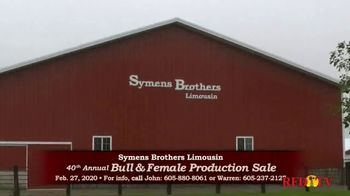 Symens Brothers Limousin Bull & Female Production Sale TV Spot, 'Treats Cattle and Customers Right' - Thumbnail 1