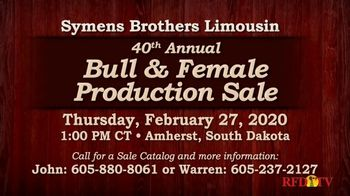 Symens Brothers Limousin Bull & Female Production Sale TV Spot, 'Treats Cattle and Customers Right' - Thumbnail 7