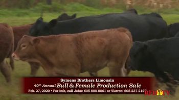 Symens Brothers Limousin Bull & Female Production Sale TV Spot, 'Treats Cattle and Customers Right' - Thumbnail 4