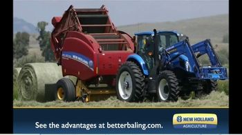 New Holland Agriculture TV Spot, 'Starts With a Cleaner Cut'