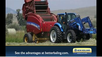 New Holland Agriculture TV Spot, 'Starts With a Cleaner Cut' - Thumbnail 9