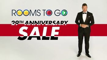 Rooms to Go Anniversary Sale TV Spot, 'Celebrate and Save' Featuring Jesse Palmer