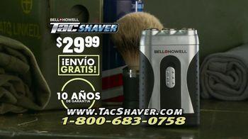 Bell + Howell Tac Shaver TV Spot, 'Rápida y suave' con Nick Bolton [Spanish] - Thumbnail 10