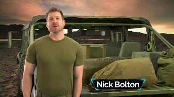 Bell + Howell Tac Shaver TV Spot, 'Rápida y suave' con Nick Bolton [Spanish] - Thumbnail 2