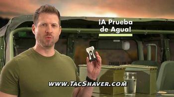 Bell + Howell Tac Shaver TV Spot, 'Rápida y suave' con Nick Bolton [Spanish] - Thumbnail 4