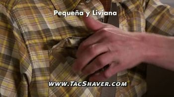 Bell + Howell Tac Shaver TV Spot, 'Rápida y suave' con Nick Bolton [Spanish] - Thumbnail 5