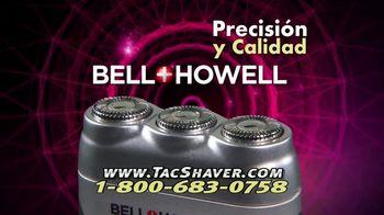 Bell + Howell Tac Shaver TV Spot, 'Rápida y suave' con Nick Bolton [Spanish] - Thumbnail 9