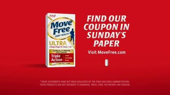 Move Free Ultra TV Spot, 'Triple Action Support' - Thumbnail 6