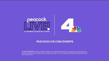 Peacock Live! Sweepstakes TV Spot, 'Universal Studios: Secret Life of Pets: Off the Leash' - Thumbnail 8