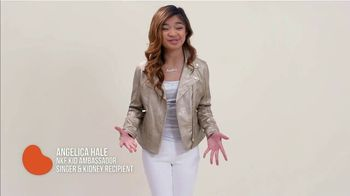 National Kidney Foundation TV Spot, 'Big Difference' Featuring Angelica Hale - Thumbnail 2