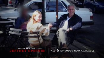 Truth and Lies: Jeffrey Epstein TV Spot, 'Now Available' - Thumbnail 6